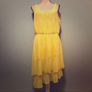 A New Day Yellow Dress sz Large